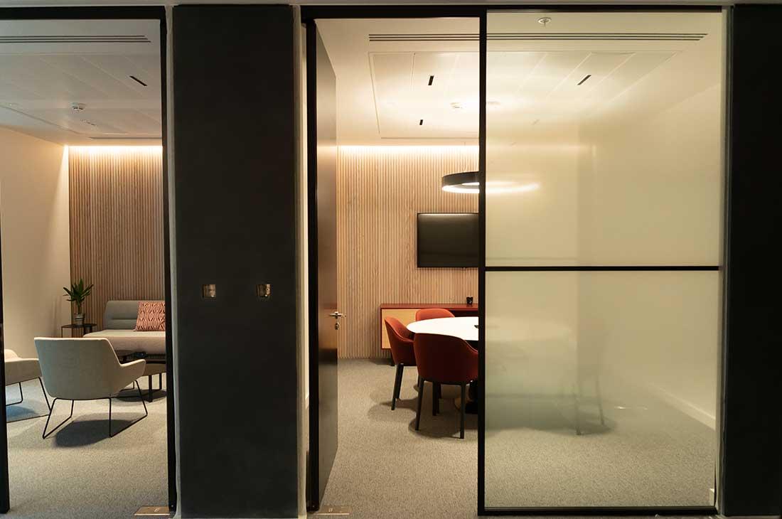 Meeting room window graphics Cardiff