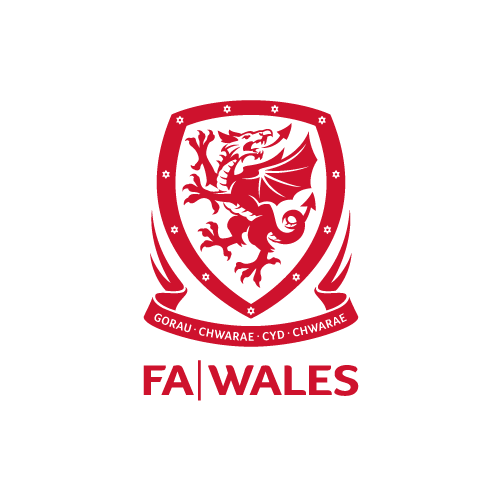 Football Association Wales logo (red)