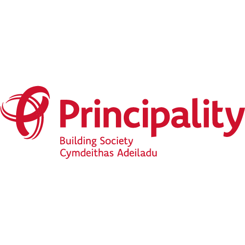 Principality Building Society logo (red)