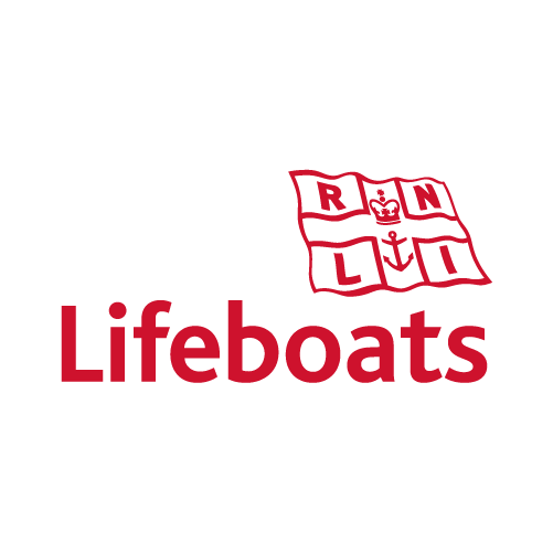 RNLI lifeboat logo (red)
