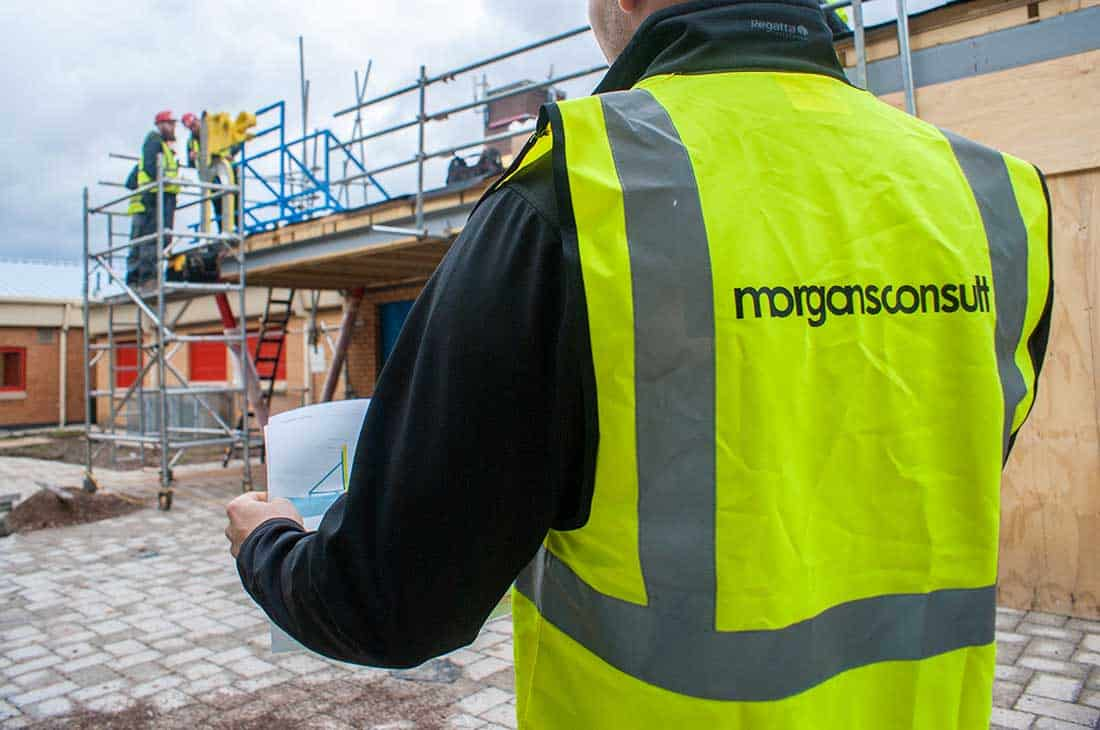 Morgans Consult site installation management high vis