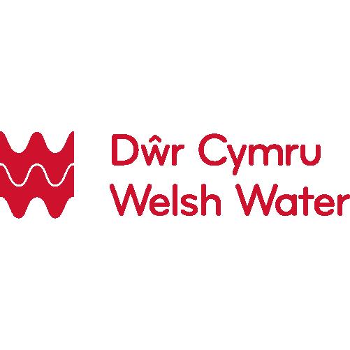 Dwr Cymru Welsh Water logo (red)