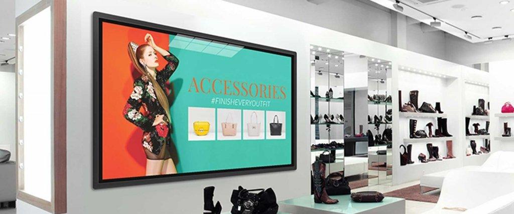 Digital strategy advertising display