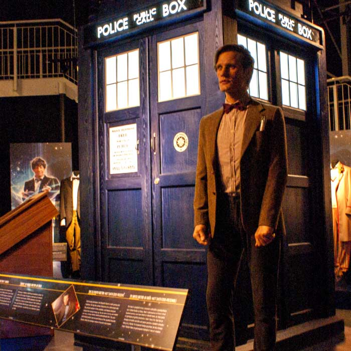 Dr Who Experience Cardiff signage and graphics