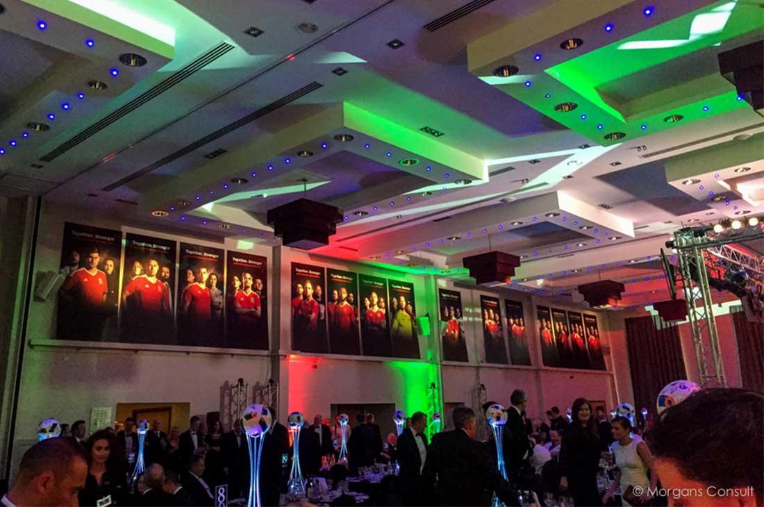 Football Association Wales event branding