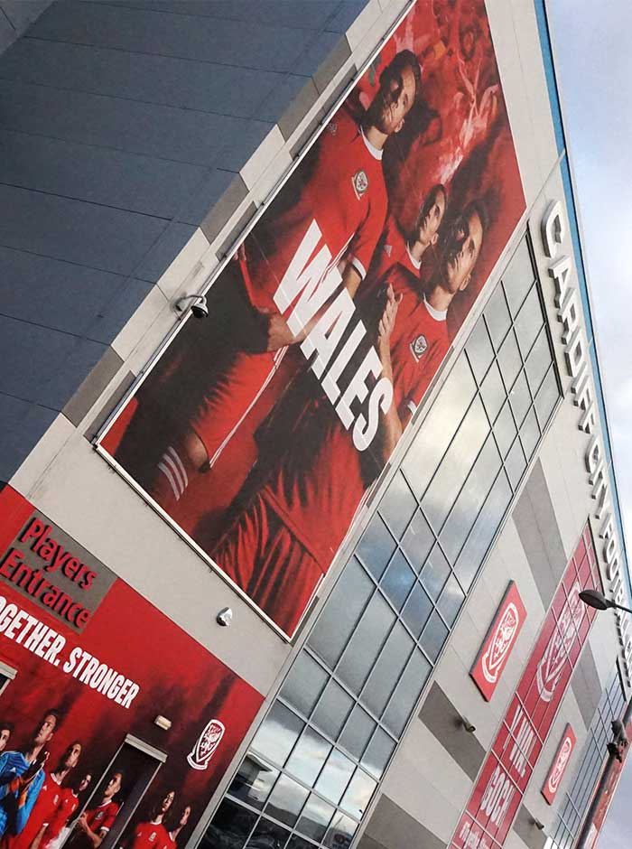 Football Association Wales stadium branding