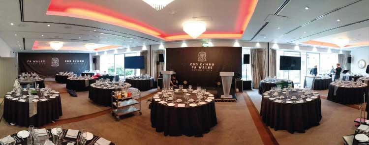 FA Wales Awards 2019 - Interior Branding