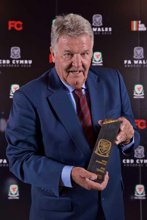 FA Wales Awards 2019 - John Toshack