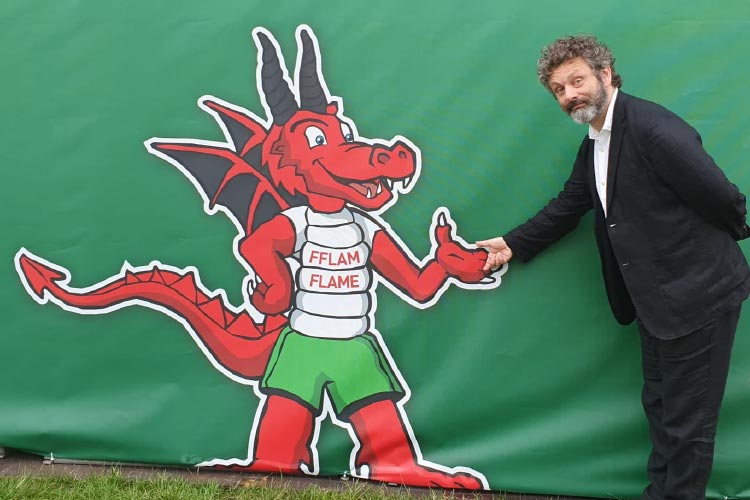 Homeless World Cup Michael Sheen