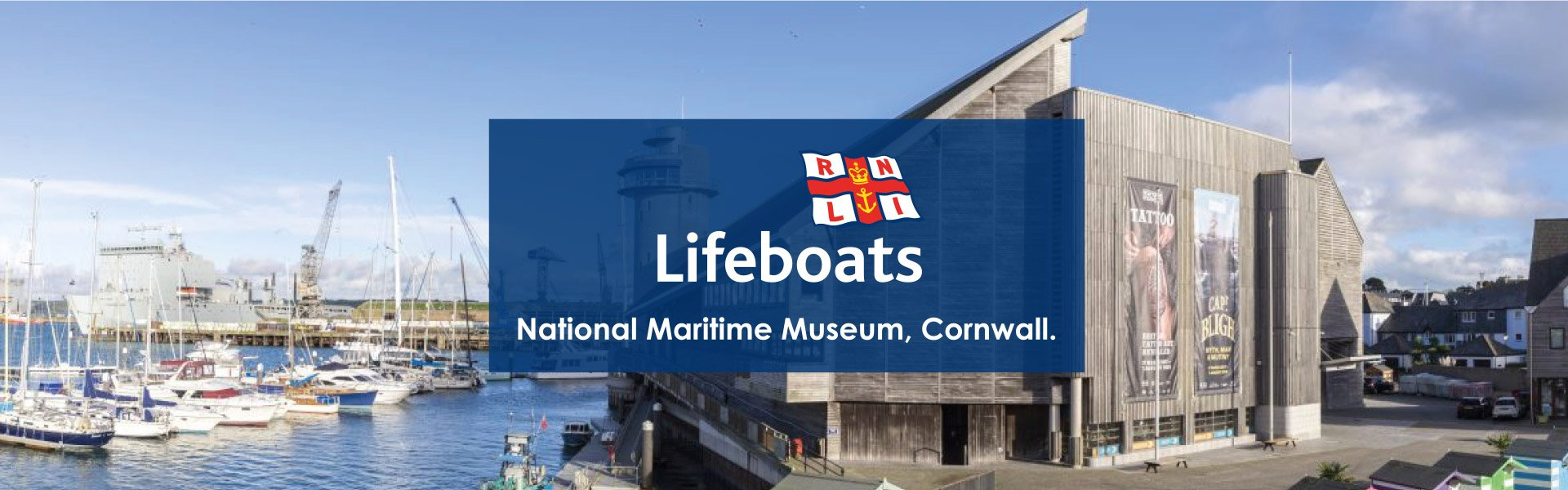 RNLI Falmouth exhibition