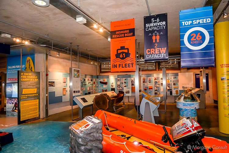 RNLI Falmouth Rescue Zone
