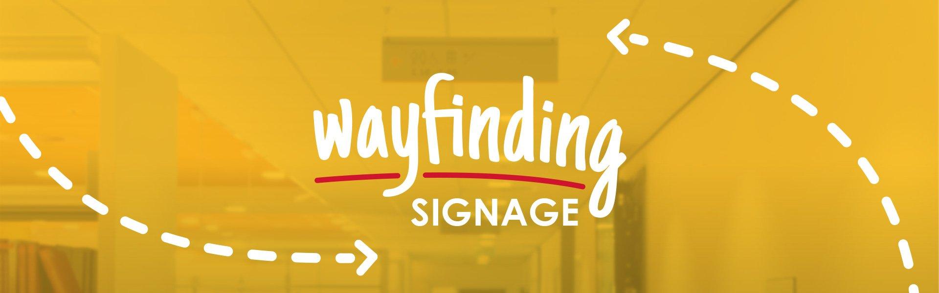 Morgans Consult wayfinding signage hero