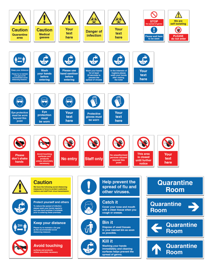 Infection-prevention-safety-signs
