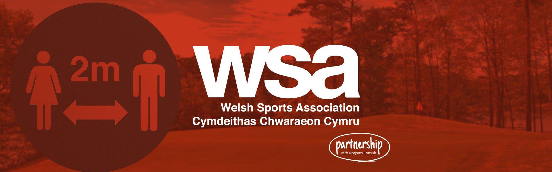 Welsh Sports Association partnership hero