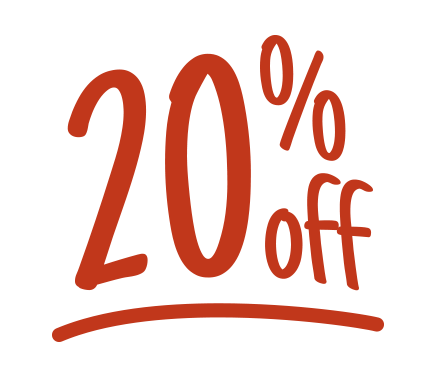 20% off icon