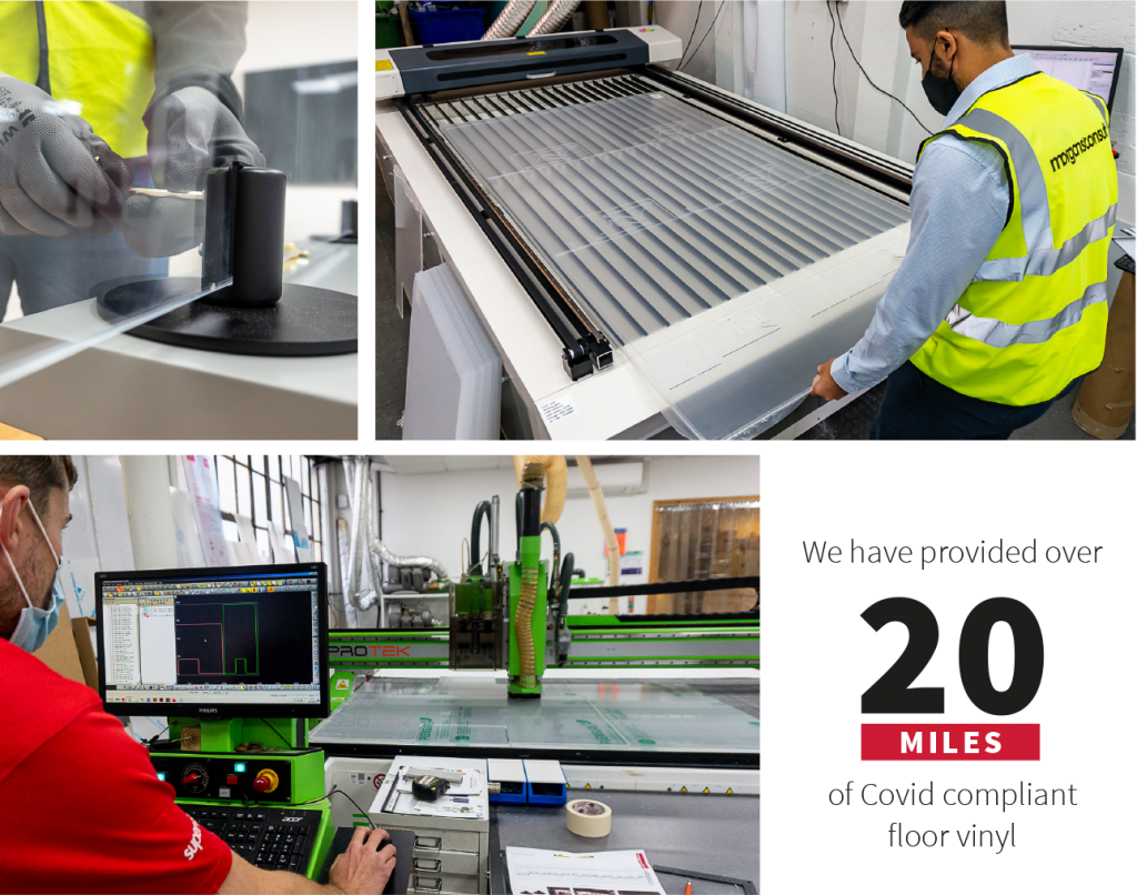 BOF safety screen Morgans Consult production
