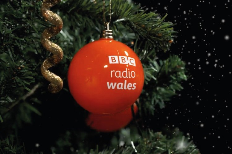 BBC Radio Wales Christmas Advert Bauble Prop