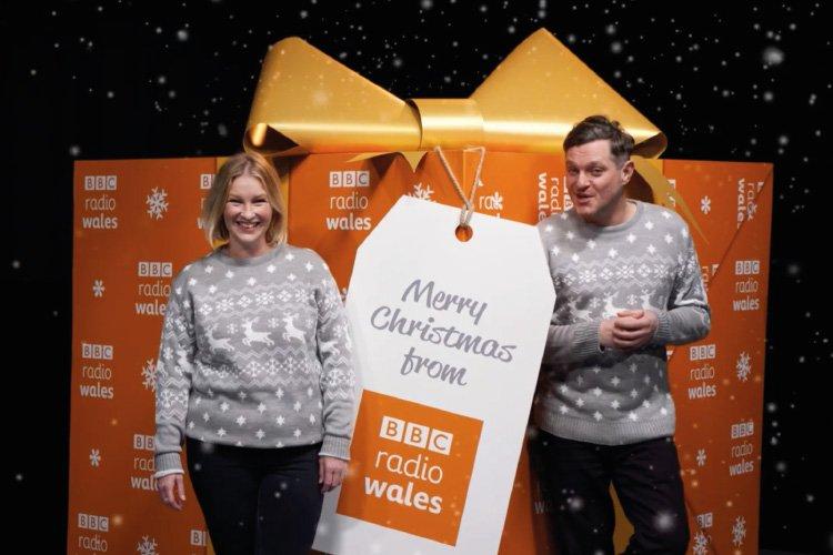 BBC Radio Wales Christmas Advert Screenshot