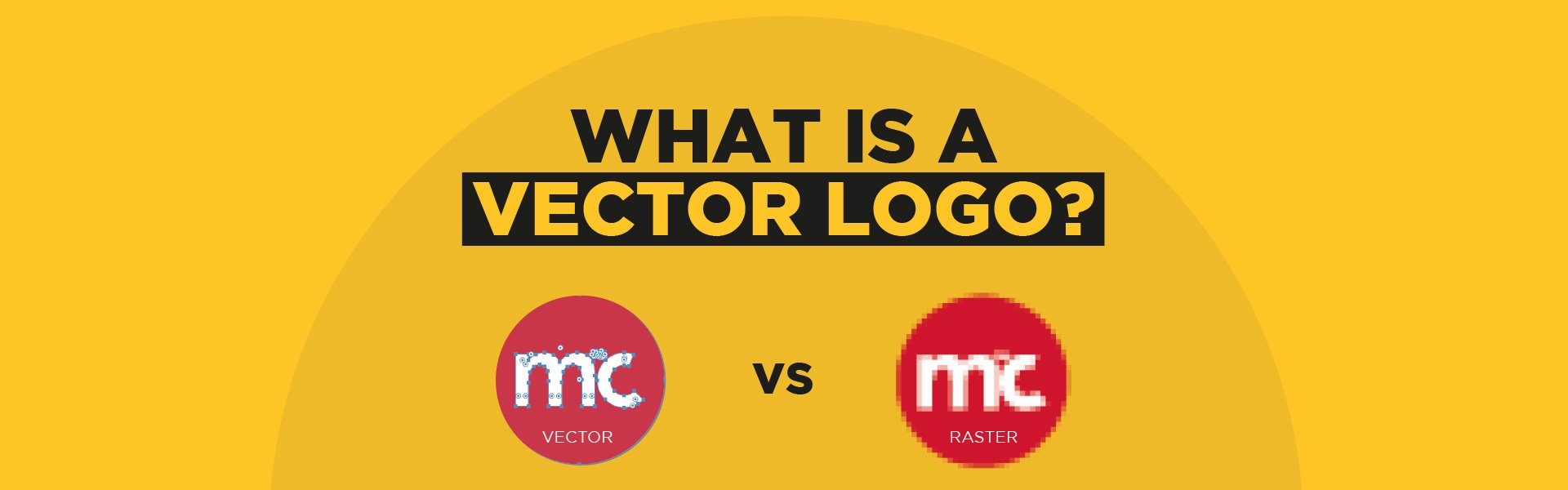 What is a vector logo hero