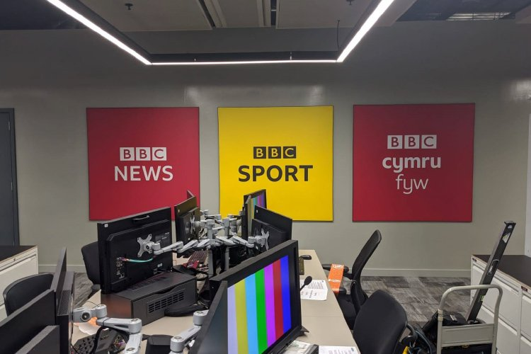 BBC Central Square branding