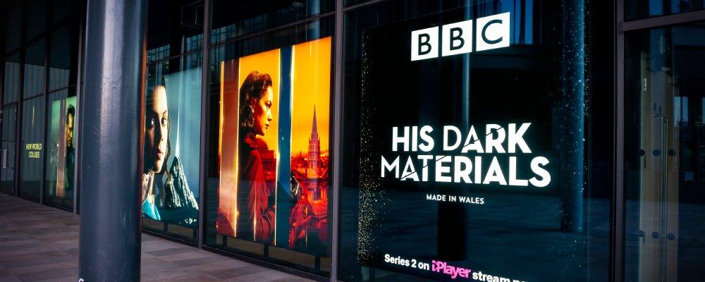 BBC His Dark Materials Lightboxes