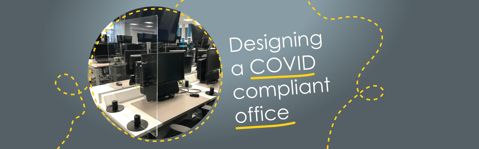 Designing a covid compliant office