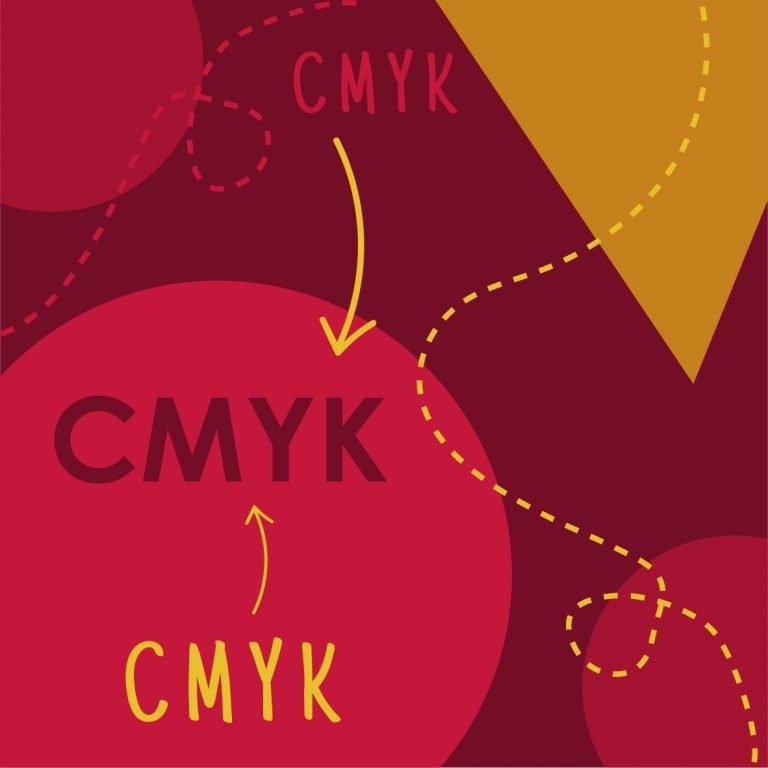CMYK graphic